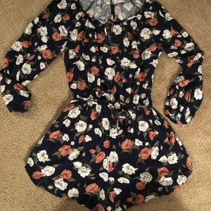 Beautiful Abercrombie & Fitch Floral Romper
